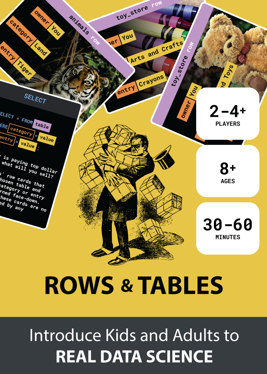 ROWS & TABLES The SQL Card Game